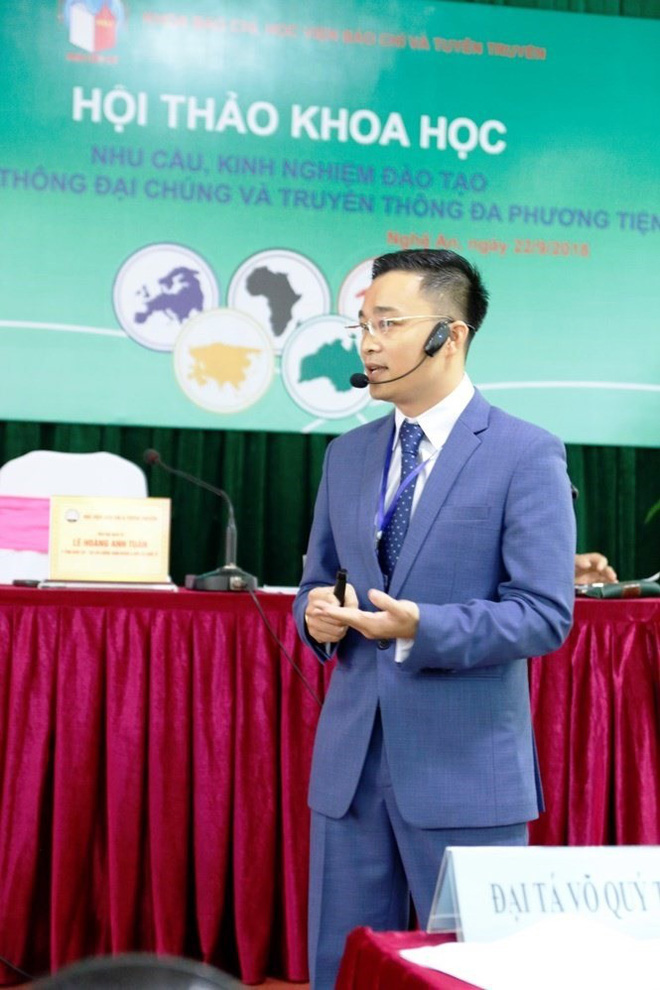 """""""Nhà báo quốc tế"""" chủ trì nhiều hội thảo, tọa đàm nghiệp vụ báo chí - Ảnh 1."""
