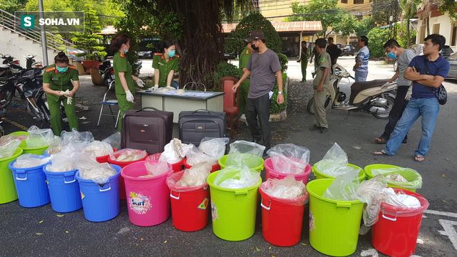 Cận cảnh lô ma tuý khủng trị giá 500 tỷ đồng vừa bị thu giữ ở Sài Gòn - ảnh 9