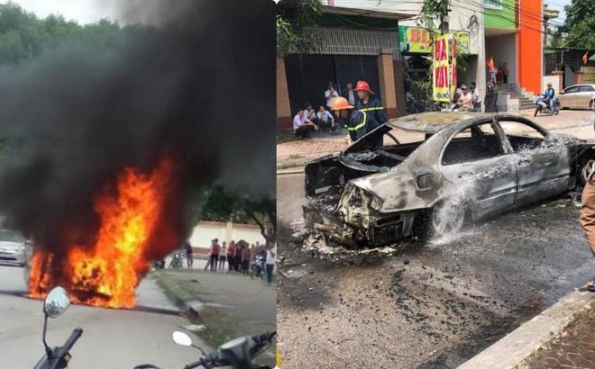 Xe sang tiền tỷ Mercedes đi đón dâu bỗng bốc cháy giữa đường, nguyên nhân càng gây tò mò