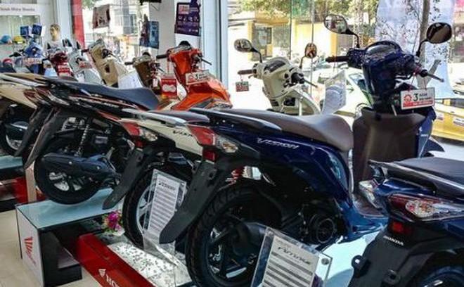 Honda Việt Nam bán 221.000 xe máy, doanh số tăng tới 46%