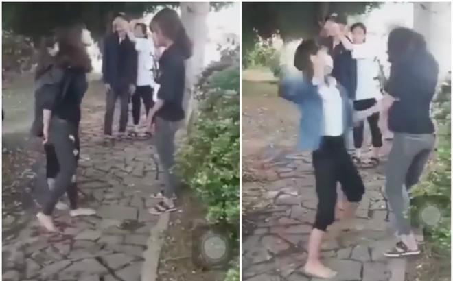Nhóm thiếu nữ đánh dã man hai nữ sinh lớp 10, rồi quay video tung lên mạng gây phẫn nộ