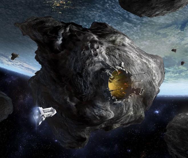 Mặt trái của cơn sốt vàng ngoài không gian: Rồi nhân loại sẽ không còn chốn dung thân? - Ảnh 3.