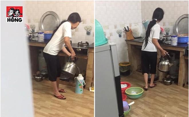 Cầm gậy rình chuột lúc 4 giờ sáng, chàng trai lặng người khi thấy cảnh tượng trong bếp