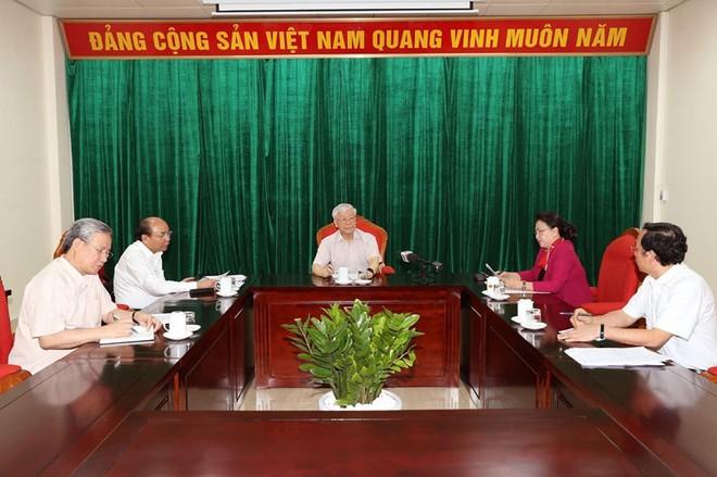 Tổng Bí thư, Chủ tịch nước Nguyễn Phú Trọng: Phải làm tiếp một vài vụ cho ra vụ - Ảnh 2.