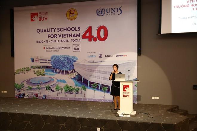 Đại học Anh Quốc Việt Nam (BUV) tổ chức hội thảo Trường học Chất lượng cao trong thời đại 4.0 - Ảnh 2.