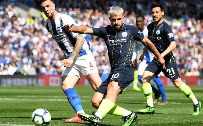 """Aguero chỉ ra """"điểm nút"""" giúp Man City vượt qua Liverpool trong cuộc đua vô địch"""