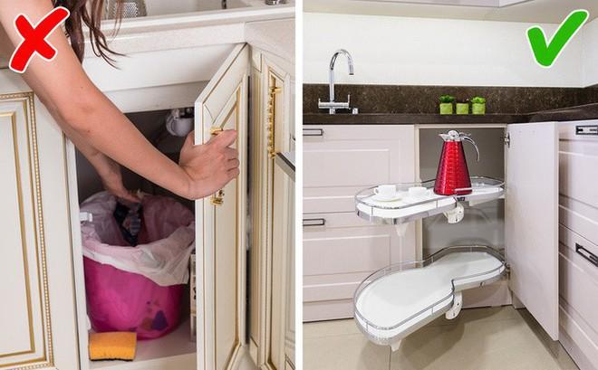 9 sai lầm trong thiết kế nhà bếp có thể biến cuộc sống của bạn trở thành một mớ hỗn độn