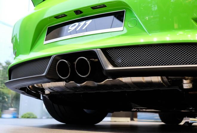 Cận cảnh Porsche 911 GT3 RS hàng hiếm, giá 14 tỷ đồng ở Hà Nội - Ảnh 7.
