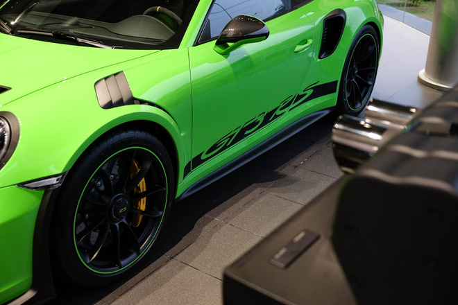 Cận cảnh Porsche 911 GT3 RS hàng hiếm, giá 14 tỷ đồng ở Hà Nội - Ảnh 6.