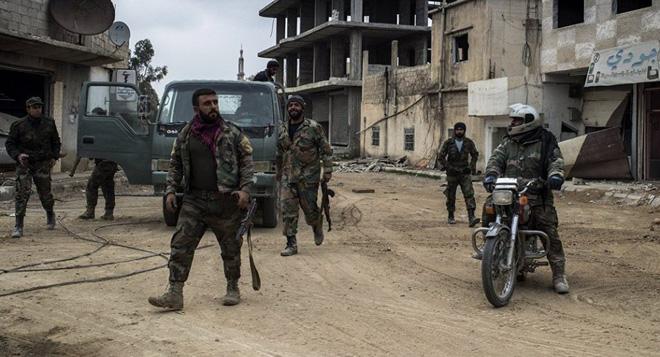 CẬP NHẬT: Chiến sự Syria nóng bỏng - Phiến quân nguy ngập, Quân đội Syria càng đánh càng hay - ảnh 1