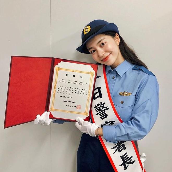 Hot girl Việt làm 'cảnh sát trưởng' ở Nhật Bản là ai? - ảnh 1