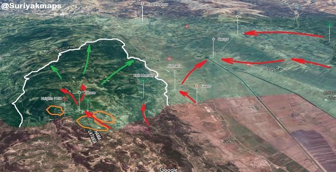 QĐ Syria quyết nhổ cái gai Kabani - Hôm nay đánh lớn nhưng thất bại, trực thăng Mỹ xuất hiện - Ảnh 10.