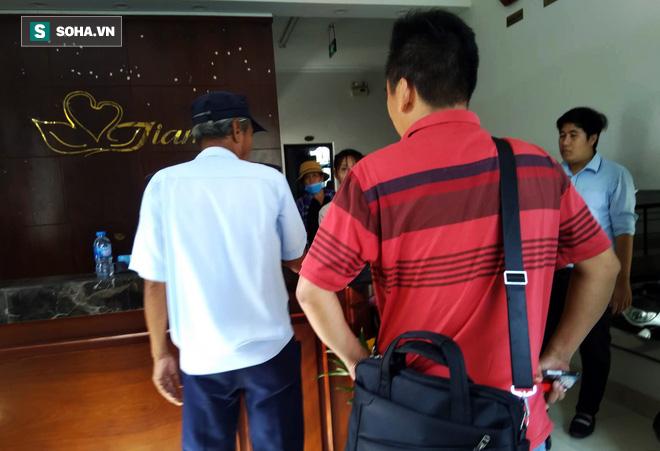 Vụ 2 thi thể đúc bê tông: Công an phóng tỏa kiểm tra khách sạn nhóm nữ nghi phạm lưu trú - ảnh 2