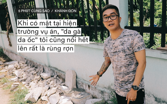 Ca sĩ Khánh Đơn lên tiếng khi bị chỉ trích việc đến hiện trường vụ án thi thể bị đổ bê tông quay phim - Ảnh 1.