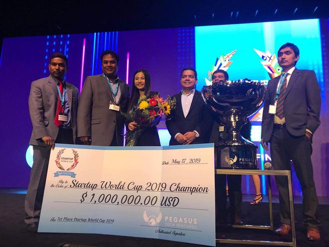 Startup Việt vô địch cuộc thi Startup World Cup 2019 tại Mỹ, nhận 1 triệu USD - Ảnh 1.