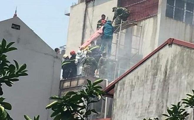 Cháy quán cà phê tại huyện Đông Anh, 2 người tử vong do ngạt khí