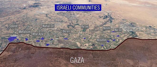 Israel bị tấn công - Chiến đấu cơ xuất kích, Gaza chìm trong mưa bom và tên lửa - Ảnh 1.