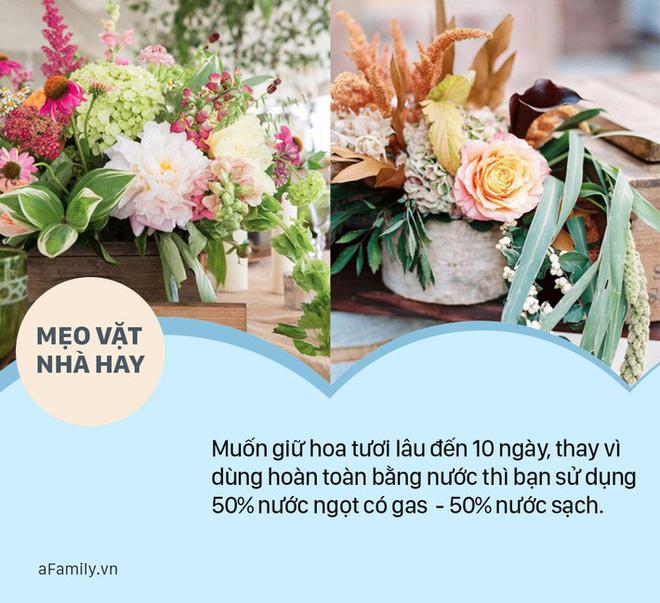 Mẹo vặt: Cắm hoa bằng nước này thì 10 ngày sau hoa vẫn tươi như mới - Ảnh 4.