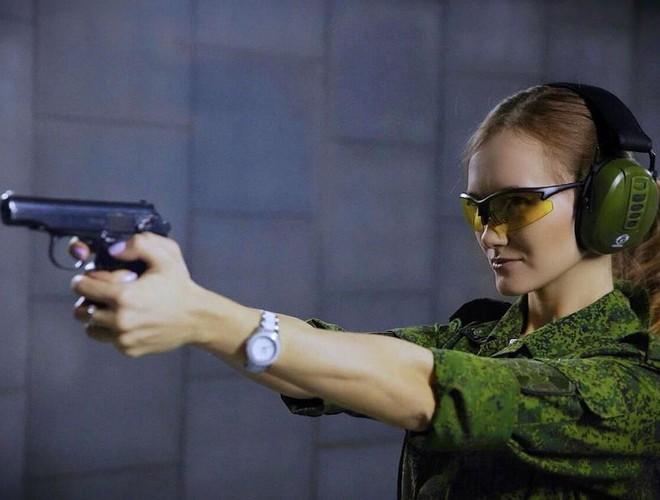[Ảnh] Những nữ sĩ quan duyên dáng, xinh đẹp trong lực lượng cảnh sát Nga - ảnh 7