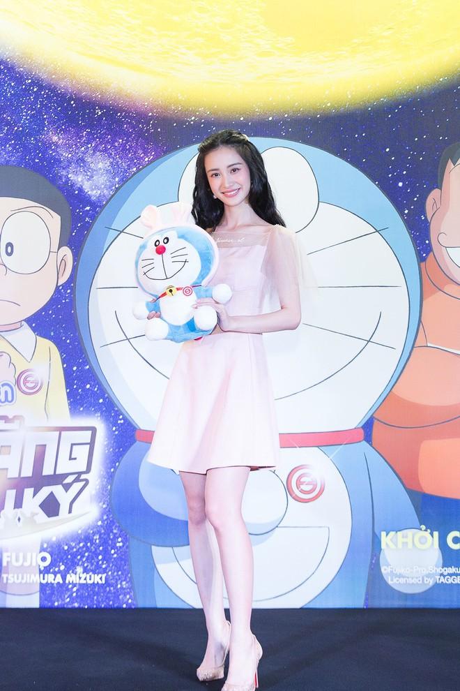Jun Vũ và dàn nghệ sĩ Việt dự công chiếu phim Doraemon - Ảnh 1.