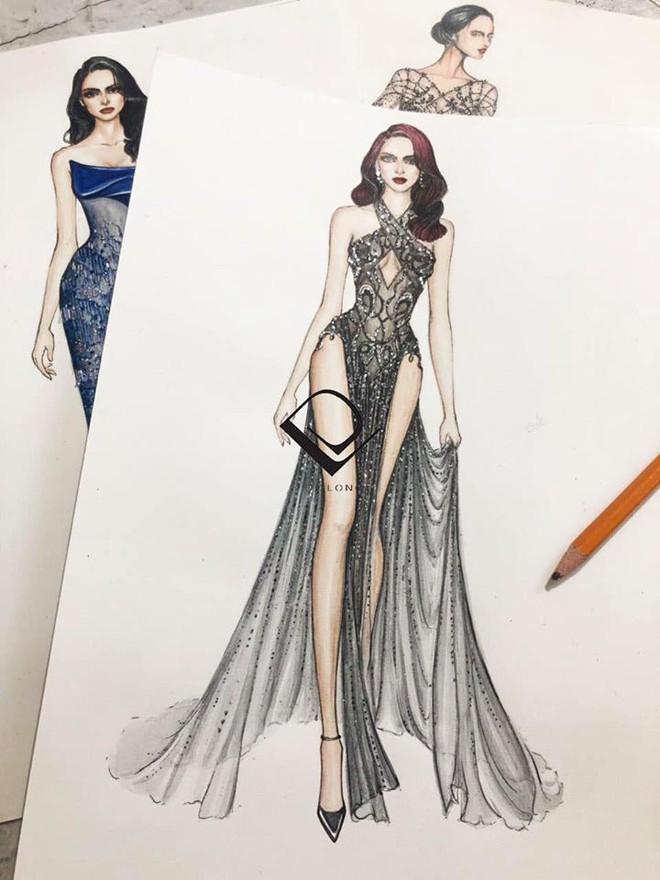 Cha đẻ chiếc váy mặc như không mặc của Ngọc Trinh lên tiếng - Ảnh 3.