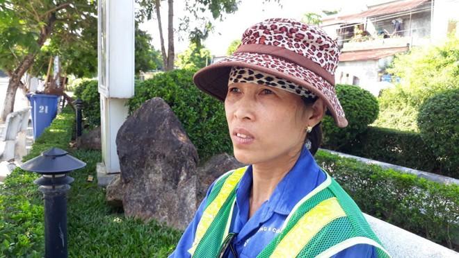 Tâm sự nghẹn ngào của nữ lao công bị cô gái trẻ hành hung giữa trời nắng gần 40 độ C - Ảnh 4.