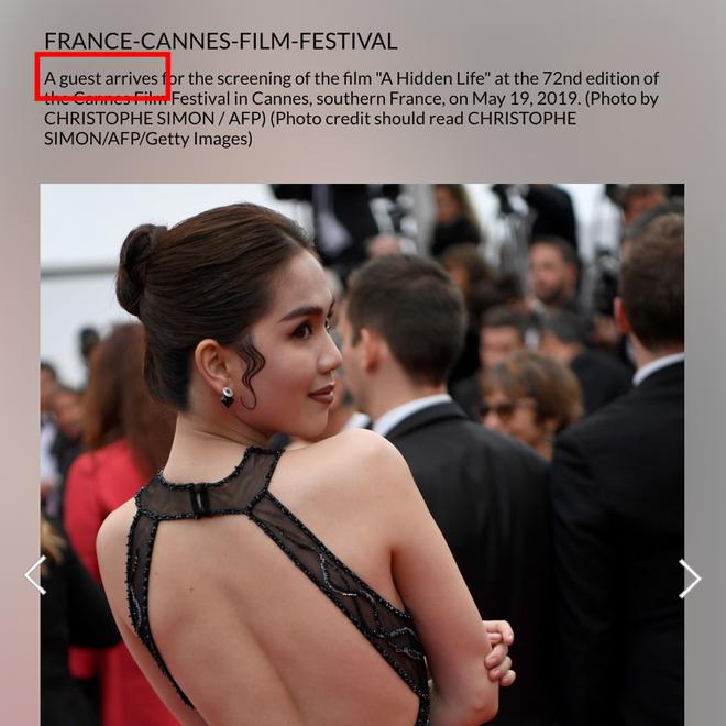 Ngọc Trinh là ai giữa LHP Cannes: Bị nhiếp ảnh quốc tế gắn mác vị khách vô danh, thậm chí nhầm hẳn sang mỹ nhân Cbiz - Ảnh 2.