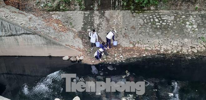 Sau 4 ngày thử nghiệm bảo bối của Nhật, sông Tô Lịch đã bớt mùi - Ảnh 2.