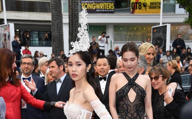 Thêm mỹ nhân Việt xuất hiện tại Cannes: Ăn mặc diêm dúa, cố tình chơi trội, hoá ra là người quen của Ngọc Trinh
