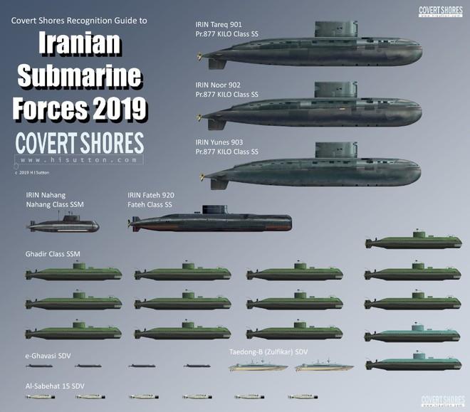 Iran sở hữu một trong những hạm đội tàu ngầm khủng nhất thế giới: Nước nào giúp đỡ? - Ảnh 1.