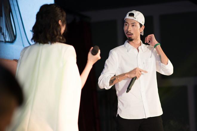 Rapper Đen và Min tình tứ hát chung - ảnh 10
