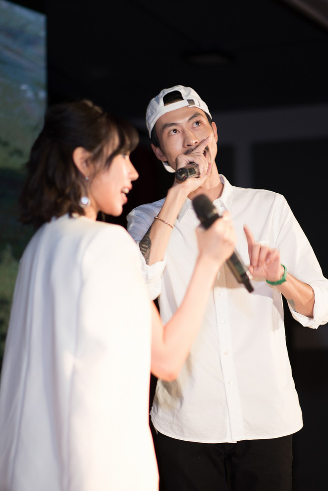 Rapper Đen và Min tình tứ hát chung - ảnh 13