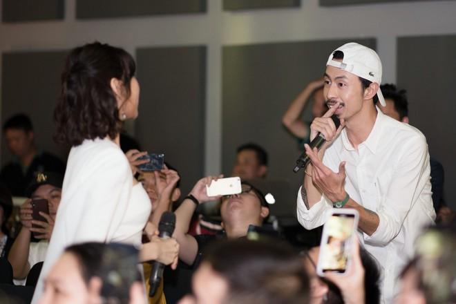 Rapper Đen và Min tình tứ hát chung - ảnh 9