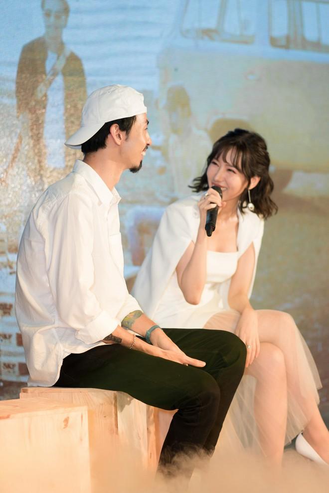 Rapper Đen và Min tình tứ hát chung - ảnh 7