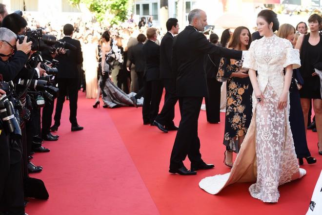 Không mặc hở hang như Ngọc Trinh, Lý Nhã Kỳ vẫn gây náo loạn thảm đỏ Cannes suốt 5 năm - Ảnh 10.