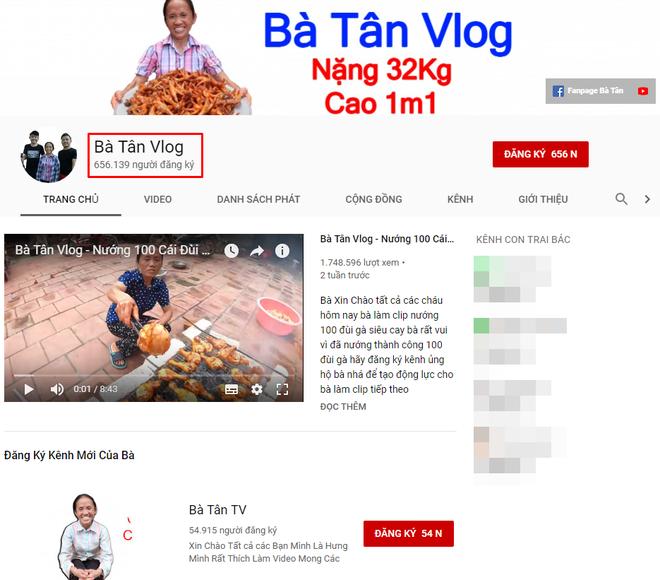 Bà Tân Vlog: Choáng ngợp với sức hút từ những món ăn khổng lồ của bác nông dân cao 1m1, nặng 32kg - ảnh 2