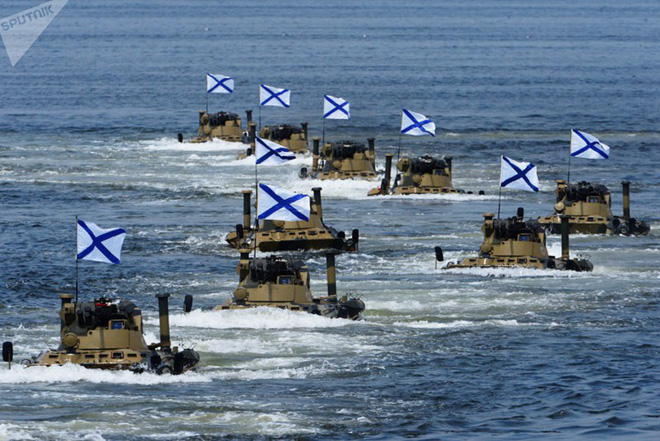 Ảnh: Sức mạnh Hạm đội Thái Bình Dương - một trụ cột của hải quân Nga - ảnh 4
