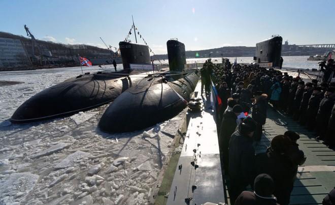 Ảnh: Sức mạnh Hạm đội Thái Bình Dương - một trụ cột của hải quân Nga - ảnh 9