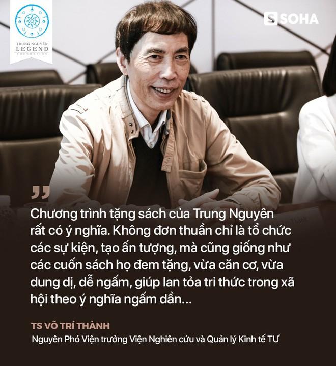 TS Võ Trí Thành nói về Trung Nguyên, sách đổi đời và về thời đại khiến nhiều người mất đi xúc cảm - Ảnh 2.