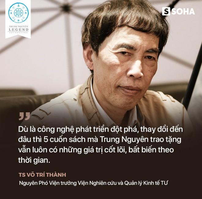 TS Võ Trí Thành nói về Trung Nguyên, sách đổi đời và về thời đại khiến nhiều người mất đi xúc cảm - Ảnh 3.