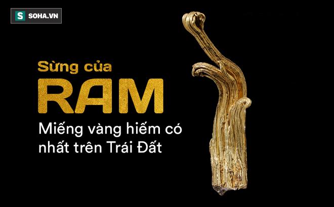 Đây là khối vàng hiếm nhất thế giới, bí mật bên trong nó thách thức khoa học hơn 1 thế kỷ