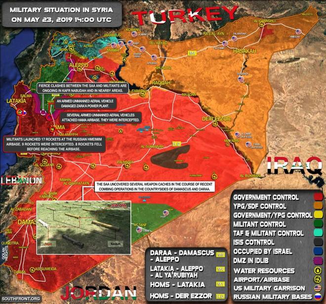 Phiến quân sập bẫy, mò trúng bãi mìn của QĐ Syria - Thương vong khủng khiếp trong chớp mắt - Ảnh 2.