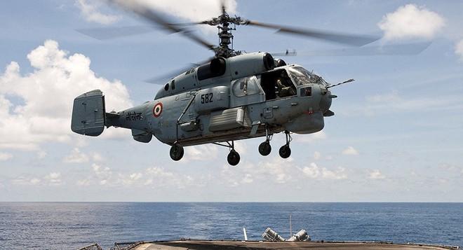 Chỉ có ở Syria: Trực thăng săn ngầm Ka-28 ném bom tấn công mặt đất - ảnh 4