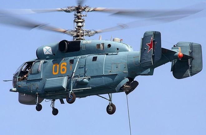 Chỉ có ở Syria: Trực thăng săn ngầm Ka-28 ném bom tấn công mặt đất - ảnh 6
