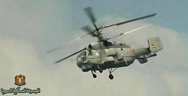 Chỉ có ở Syria: Trực thăng săn ngầm Ka-28 ném bom tấn công mặt đất - ảnh 10