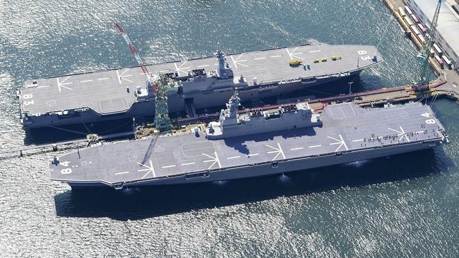 2 tàu sân bay, 20 F-35B: Nhật Bản muốn đánh đòn phủ đầu 6 tàu sân bay Trung Quốc? - Ảnh 1.