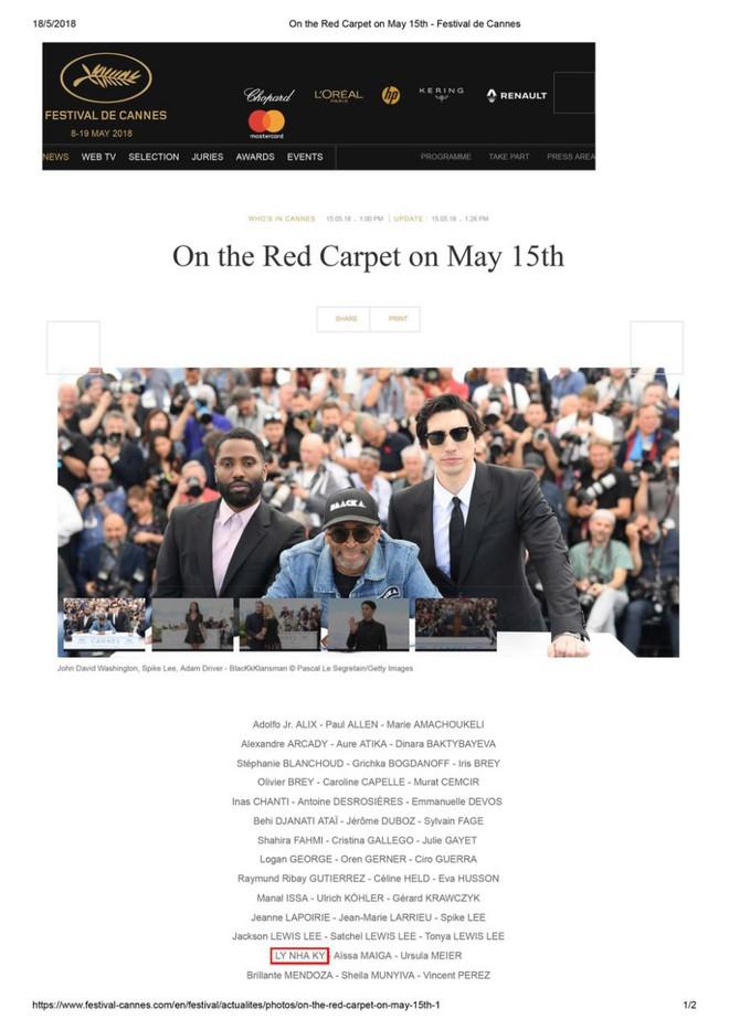 Lý Nhã Kỳ: Tự bỏ tiền túi đi Cannes là ngốc nghếch, nhiều nghệ sĩ đang làm quá vai trò mình trên thảm đỏ lừa truyền thông - Ảnh 7.