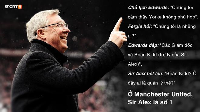 20 năm sau cú ăn 3 vĩ đại của MU: Sir Alex Ferguson, cuộc chiến với ông chủ keo kiệt và 2 lần xin từ chức - Ảnh 3.