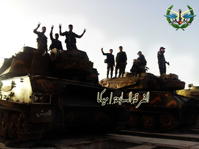 Lính QĐ Syria bóc trần sự khốc liệt chưa từng có - Phiến quân bị đẩy xuống bờ vực - Ảnh 18.