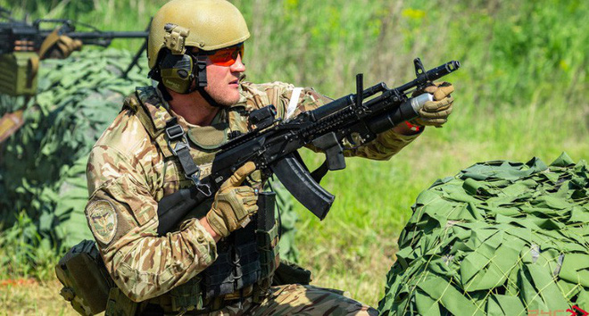 Quy trình huấn luyện chống khủng bố khắc nghiệt của đặc nhiệm Nga - ảnh 1